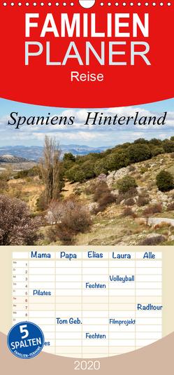 Spaniens Hinterland – Familienplaner hoch (Wandkalender 2020 , 21 cm x 45 cm, hoch) von Salzmann,  Ursula