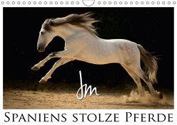 Spaniens stolze PferdeAT-Version (Wandkalender 2018 DIN A4 quer) von Moll,  Julia