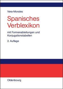 Spanisches Verblexikon von Vera Morales,  José