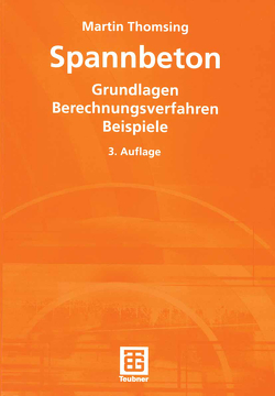 Spannbeton von Thomsing,  Martin