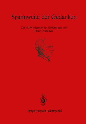Spannweite der Gedanken von Bandel,  H.K., Basar,  Y., Bieger,  K.W., Günschel,  G., Hilsdorf,  H.K., Isler,  H., Kalleja,  H., Kallin,  E., Krätzig,  W.B., Kupfer,  H, Lorenz,  P., Müller,  H. S., Müther,  U., Pilny,  F., Raak,  W., Reyer,  E., Schönemann,  U., Specht,  M., Specht,  Manfred, Spittank,  J., Stiller,  M., Streit,  W., Tang,  M.-C., Trost,  H., Vielhaber,  J., Wölfel,  E., Zerna,  W.