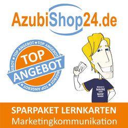 Spar-Paket Lernkarten Kaufmann / Kauffrau für Marketingkommunikation von Grünwald,  Jochen, Meyer,  Ralf, Rung-Kraus,  Michaela