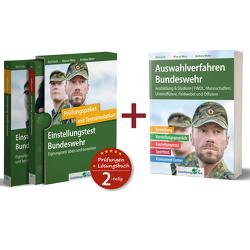 Sparpaket – Einstellungstest + Auswahlverfahren Bundeswehr von Guth,  Kurt, Mery,  Marcus, Mohr,  Andreas