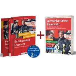 Sparpaket – Einstellungstest + Auswahlverfahren Feuerwehr von Guth,  Kurt, Mery,  Marcus, Mohr,  Andreas