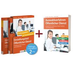 Sparpaket – Einstellungstest + Auswahlverfahren Öffentlicher Dienst von Guth,  Kurt, Mery,  Marcus, Mohr,  Andreas
