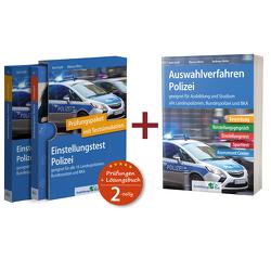 Sparpaket – Einstellungstest + Auswahlverfahren Polizei von Guth,  Kurt, Mery,  Marcus