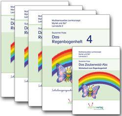 Sparpaket: Regenbogenhefte 1-4 (SAS) von Voss,  Suzanne