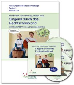 Sparpaket: Singend durch das Rechtschreibland von Plötz,  Franz, Plötz,  Robert, Schnagl,  Tania