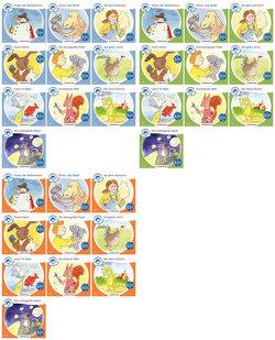 Sparpaket: Zeit für Geschichten – 3-fach differenziert – Komplettbezug Hefte 1–10 (A, B, C) von Erdmann,  Bettina, Gaida,  Katrin