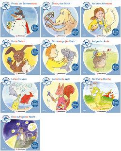 Sparpaket: Zeit für Geschichten – 3-fach differenziert – Komplettbezug Hefte 1–10 (Stufe A) von Erdmann,  Bettina, Gaida,  Katrin