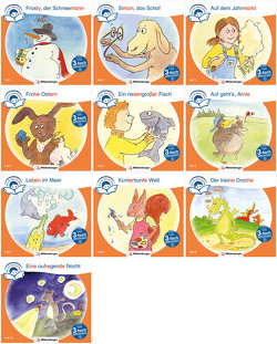 Sparpaket: Zeit für Geschichten – 3-fach differenziert – Komplettbezug Hefte 1–10 (Stufe C) von Erdmann,  Bettina, Gaida,  Katrin