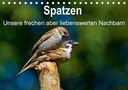 Spatzen, unsere frechen aber liebenswerte Nachbarn (Tischkalender 2018 DIN A5 quer) von Klapp,  Lutz