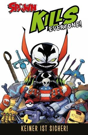 Spawn Kills Everyone! von Kirby,  J.J., Kronsbein,  Bernd, McFarlane,  Todd, Robson,  Will