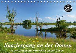Spaziergang an der Donau (Tischkalender 2018 DIN A5 quer) von Heußlein,  Jutta