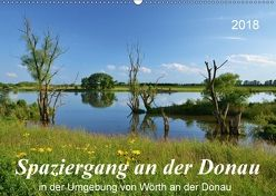 Spaziergang an der Donau (Wandkalender 2018 DIN A2 quer) von Heußlein,  Jutta
