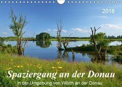 Spaziergang an der Donau (Wandkalender 2018 DIN A4 quer) von Heußlein,  Jutta