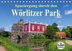 Spaziergang durch den Wörlitzer Park (Tischkalender 2019 DIN A5 quer) von LianeM