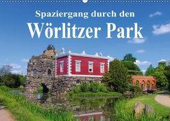 Spaziergang durch den Wörlitzer Park (Wandkalender 2018 DIN A2 quer) von LianeM,  k.A.