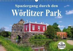 Spaziergang durch den Wörlitzer Park (Wandkalender 2018 DIN A3 quer) von LianeM,  k.A.