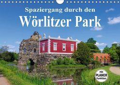 Spaziergang durch den Wörlitzer Park (Wandkalender 2019 DIN A4 quer) von LianeM
