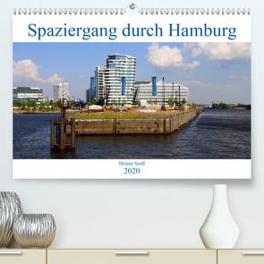 Spaziergang durch Hamburg (Premium, hochwertiger DIN A2 Wandkalender 2020, Kunstdruck in Hochglanz) von Seidl,  Helene