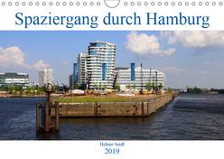 Spaziergang durch Hamburg (Wandkalender 2019 DIN A4 quer) von Seidl,  Helene