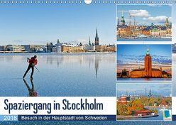 Spaziergang in Stockholm: Besuch in der Hauptstadt von Schweden (Wandkalender 2018 DIN A3 quer) von CALVENDO,  k.A.