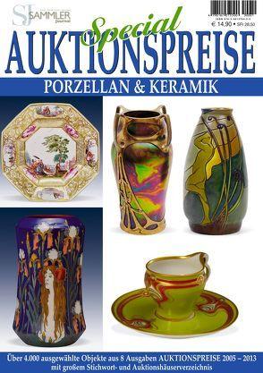 Special Auktionspreise – Porzellan & Keramik von Eberhardt,  Joscha, Neumeier,  Rudolf, Reddersen,  Gerd