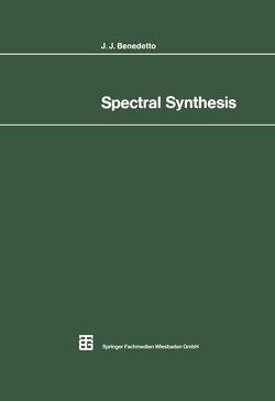 Spectral Synthesis von Benedetto,  John J.