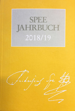 Spee-Jahrbuch 2018/19 von Arbeitsgemeinschaft der Friedrich-Spee-Gesellschaften,  Düsseldorf und Trier