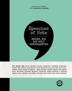 Speeches of Note von Usher,  Shaun