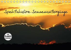 Spektakuläre Sonnenuntergänge (Tischkalender 2018 DIN A5 quer) von Verena Scholze,  Fotodesign