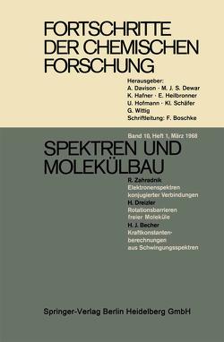 Spektren und Molekülbau von Becher,  H.J., Dreizler,  H., Zahradnik,  R.