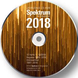 Spektrum der Wissenschaft CD-ROM 2018