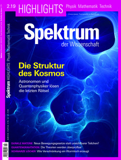Spektrum Highlights – Die Struktur des Kosmos