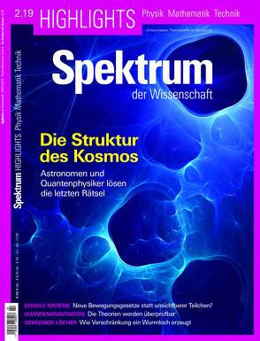 Spektrum Highlights – Die Struktur des Kosmos