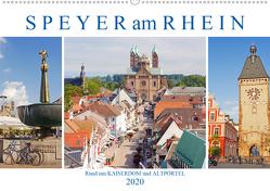 Speyer am Rhein. Rund um Kaiserdom und Altpörtel (Wandkalender 2020 DIN A2 quer) von M. Laube,  Lucy