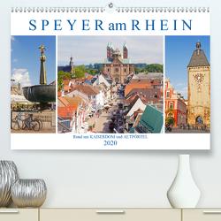 Speyer am Rhein. Rund um Kaiserdom und Altpörtel (Premium, hochwertiger DIN A2 Wandkalender 2020, Kunstdruck in Hochglanz) von M. Laube,  Lucy
