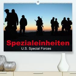 Spezialeinheiten • U.S. Special Forces (Premium, hochwertiger DIN A2 Wandkalender 2021, Kunstdruck in Hochglanz) von Stanzer,  Elisabeth