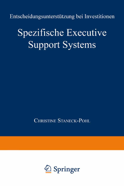 Spezifische Executive Support Systems von Staneck-Pohl,  Christine