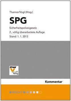 SPG Sicherheitspolizeigesetz von Thanner,  Theodor, Vogl,  Mathias