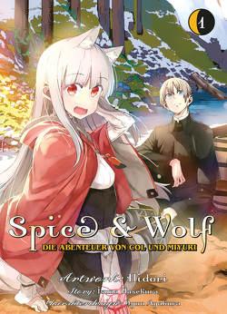 Spice & Wolf: Die Abenteuer von Col und Miyuri von Hasekura,  Isuna, Hidori