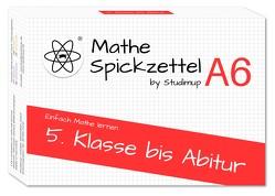 Mathe Spickzettel A6