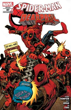 Spider-Man/Deadpool von , Flaviano, Hepburn,  Scott, Horak,  Matt, Strittmatter,  Michael, Thompson,  Robbie, Towe,  Jim