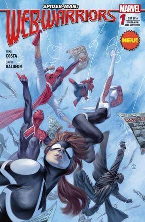 Spider-Man: Web Warriors von Baldeon,  David, Costa,  Mike