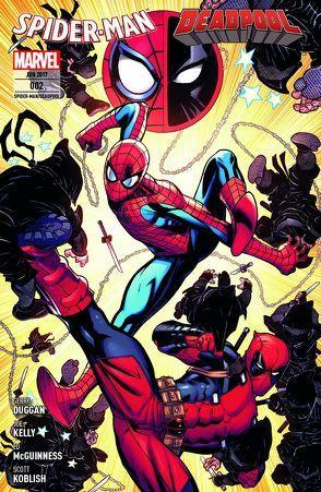 Spider-Man/Deadpool von Duggan,  Gerry, Kelly,  Joe, Koblish,  Scott, McGuinness,  Ed, Strittmatter,  Michael