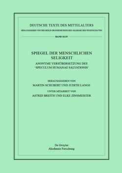 Spiegel der menschlichen Seligkeit von Lange,  Judith, Schubert,  Martin