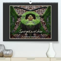 Spiegelwelten – Im Reich der Naturwesen (Premium, hochwertiger DIN A2 Wandkalender 2021, Kunstdruck in Hochglanz) von Hubner,  Katharina