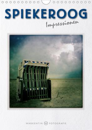 Spiekeroog Impressionen (Wandkalender 2021 DIN A4 hoch) von H. Warkentin,  Karl