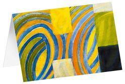 Spiel der Formen – Kunst-Faltkarten ohne Text (5 Stück) von Felger,  Andreas